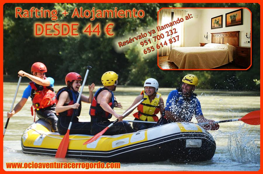 oferta-rafting-hotel-verano-cupon-economico-escapada