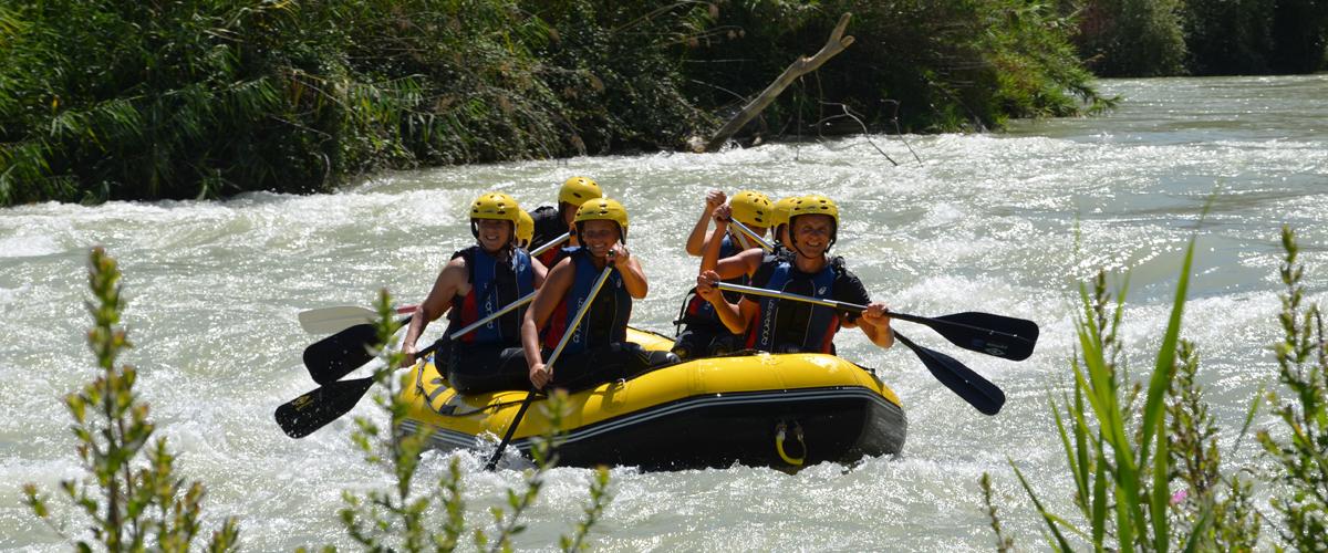 Rafting Río Genil