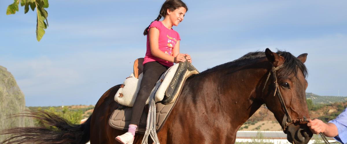 Paseo a caballo Málaga