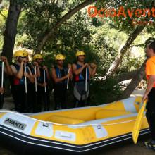 Rafting despedida de solteros Málaga