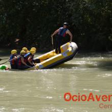 Rafting cerca del Rincón de la Victoria