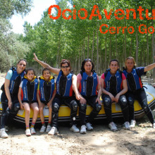 Rafting familiar Granada