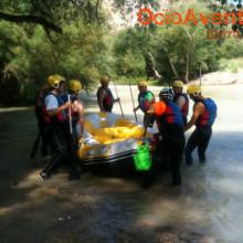 Rafting despedida de solteros Córdoba