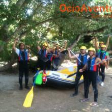 Rafting despedida de solteros Andalucía