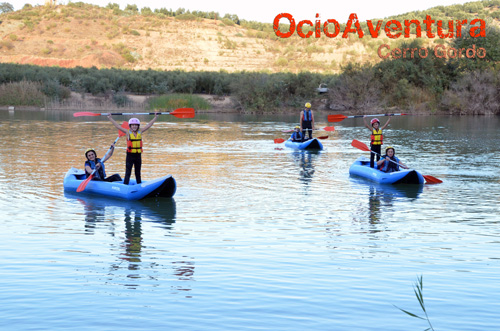 Kayaking for children malaga